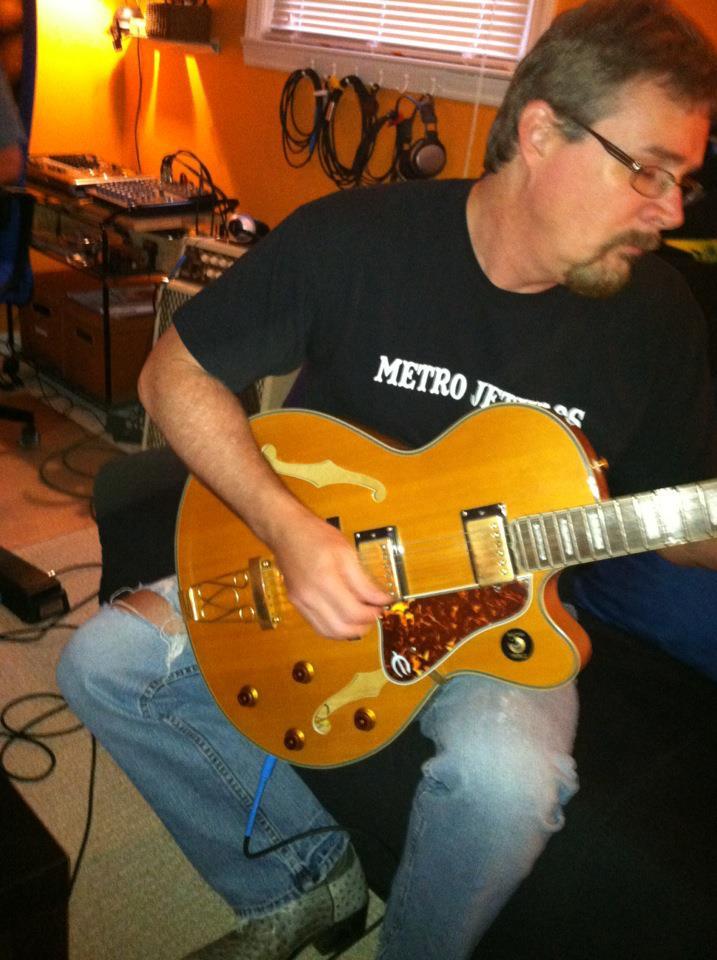 Chris guitar